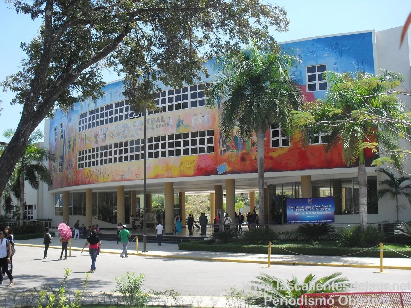 Resultado de imagen para IMAGEN DE APOYO CENTRO UASD SAN JUAN