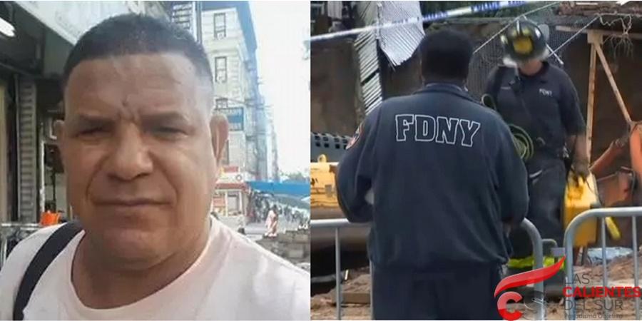 Reanudan busqueda cuerpo de dominicano en NY bajo escombros de muro colapsado