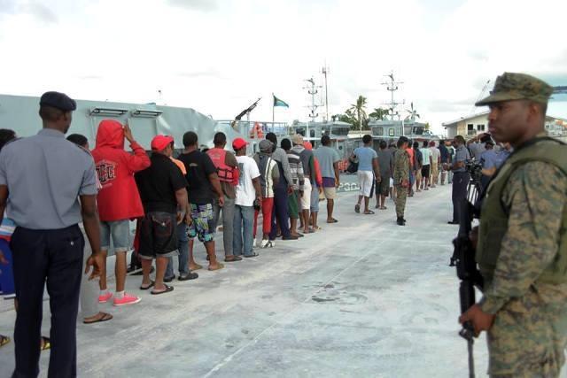 Apresan 124 pescadores dominicanos por pesca ilegal
