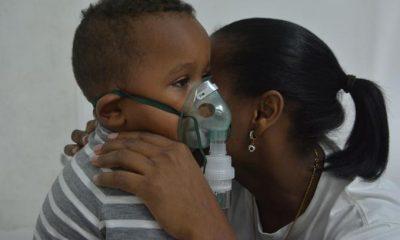 Centros registran incrementos de pacientes con afecciones respiratorias