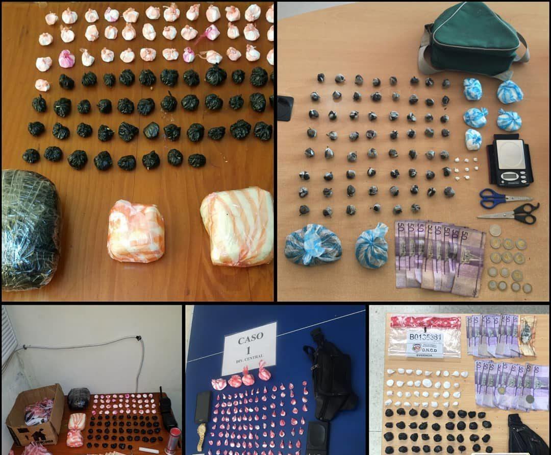 DNCD ocupa más de 10 mil porciones de drogas en barrios del Gran SD
