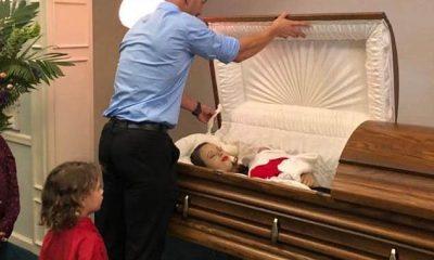 El padre que comparti ofotos de su esposa embarazada en el ataúd conductor ebrio los mato