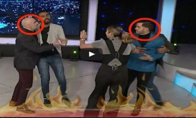 Manny Cruz y Raulito Grisanty casi se entran a las trompadas y por poco matan a Pamela Sued del susto en esta broma pesada!