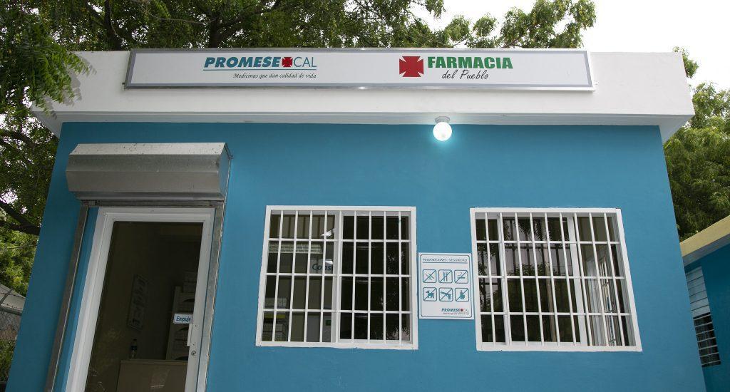 PROMESECAL inicia trabajos construccion 44 Farmacias del Pueblo