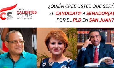 Encuesta Candidato a Senador por el PLD en San Juan