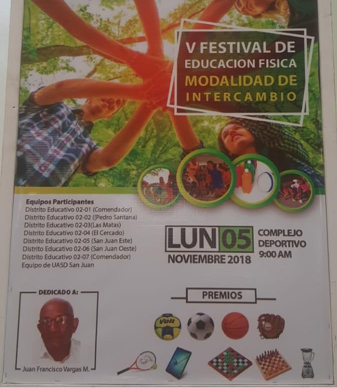 V Festival de Educación Física