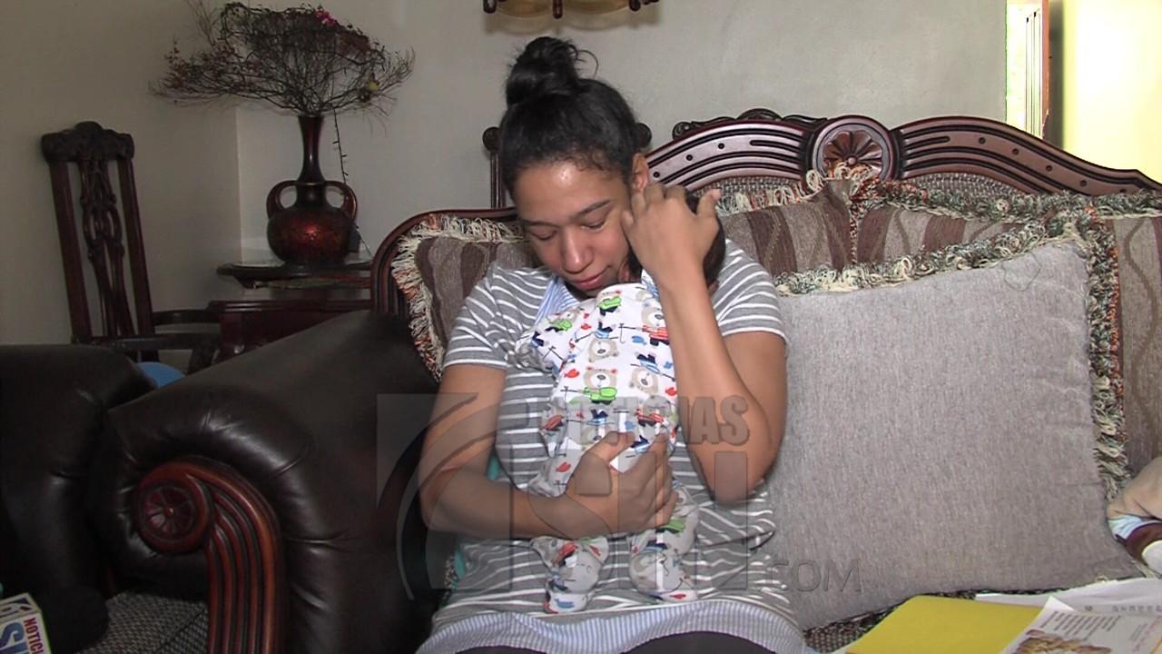Madre de bebé con hidrocefalia congénita pide ayuda