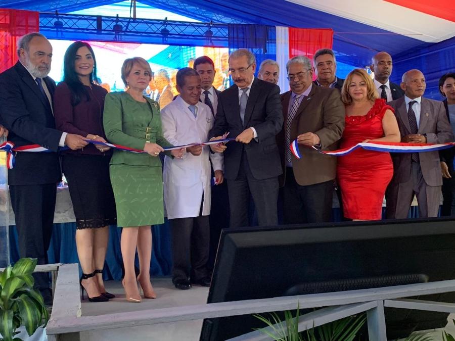 Resultado de imagen para imagen de apoyo inauguracion hospital de san juan de la maguana