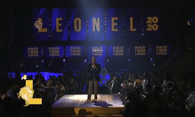 Acto de Leonel Fernández en Santiago