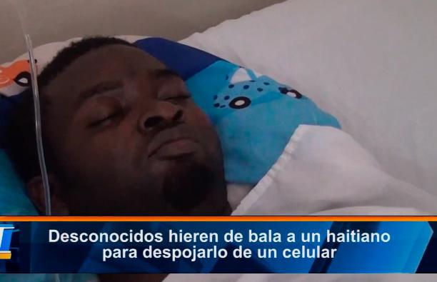 Desconocidos-hieren-de-bala-a-un-haitiano-para-despojarlo-de-un-celular