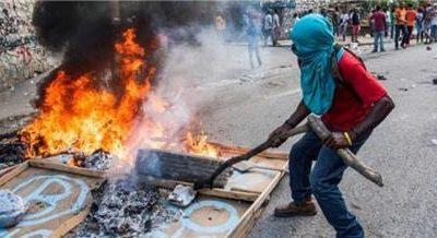 Continúan movilizaciones en Haití en medio de una gran tensión