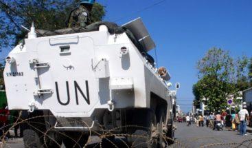 Cuatro muertos en accidente de vehículo blindado ONU