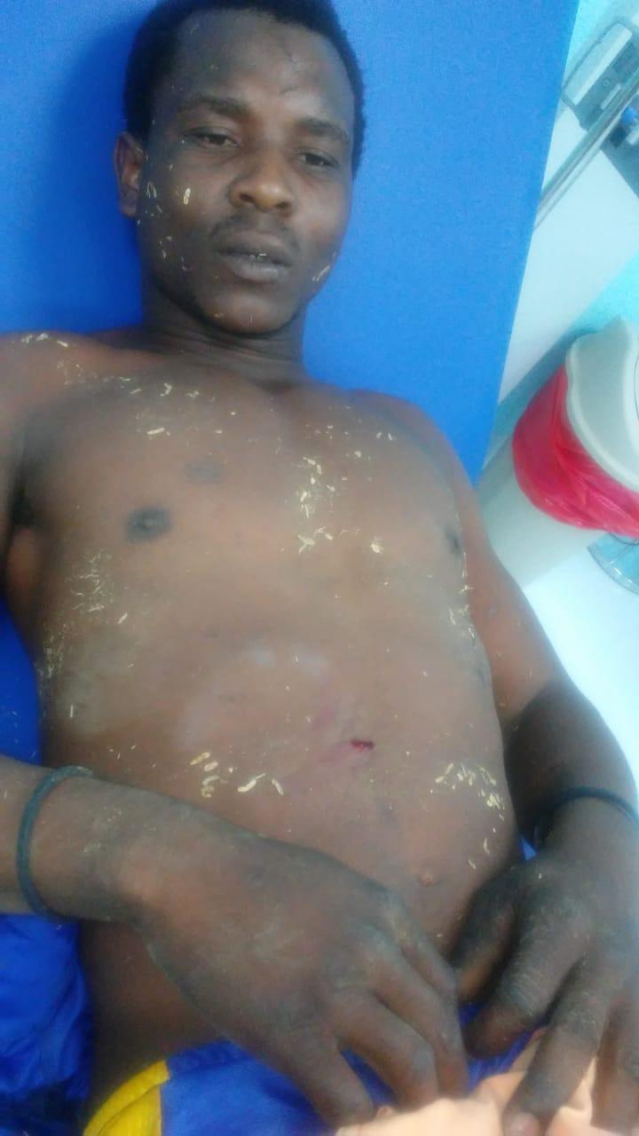 Haitiano Herido por otro