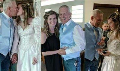 Joven de 19 años reveló que quiere tener un hijo con su esposo de 62 y le llueven las críticas