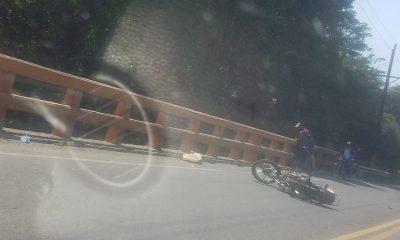 Cayó del puente