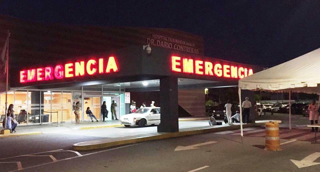Hospital Darío Contreras asegura casos de emergencia en SS han disminuido 35%
