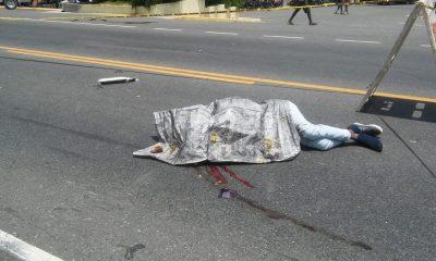 Muerto accidente