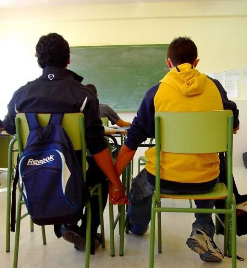 Homosexualidad en escuela