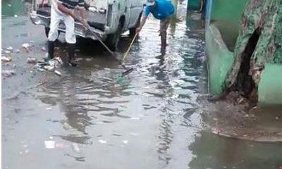 Denuncian lluvias dejan calles