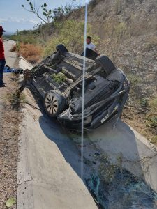 Accidente Carlos Valdez