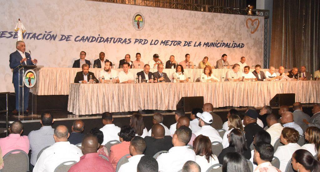 Miguel Vargas PRD presentará al electorado la mejor boleta municipal en el 2020