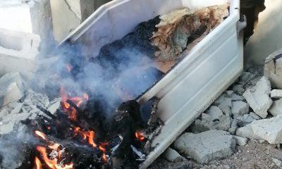 Tumba quemada