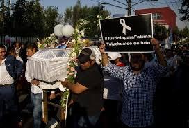 La Policía mexicana detiene a los dos presuntos responsables del asesinato de la niña Fátima