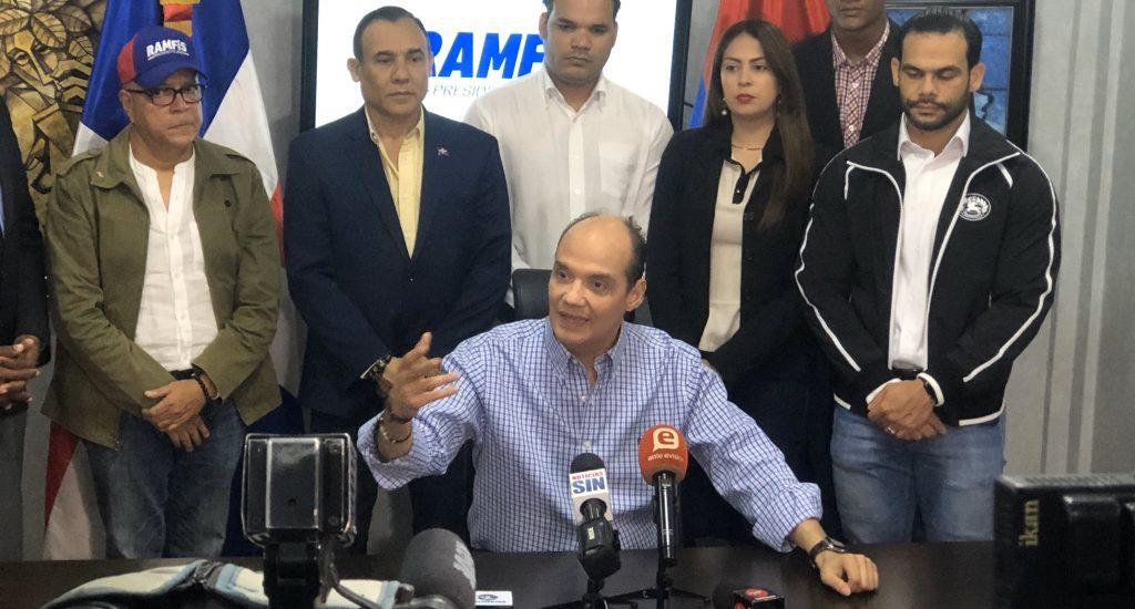 Ramfis Trujillo anuncia inscripción de su candidatura presidencial ante la JCE