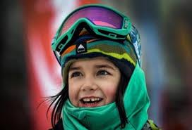 Vassilissa Ermakova es una niña rusa de seis años que se destaca en deportes extremos