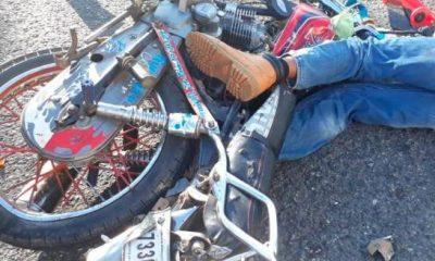 Muerte motorista en accidente de tránsito en la Jacobo Majluta