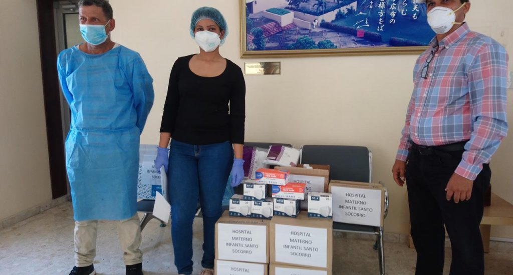 Movimiento Soka Gakkai de RD dona insumos sanitarios a hospitales públicos para combate COVID-19