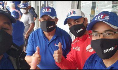 PRM realiza caravana en Miami en apoyo candidatura presidencial de Luis Abinader