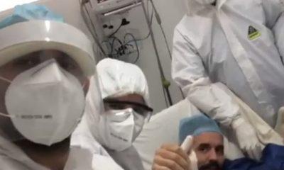 (VIDEO) Hombre de SFM vence el coronavirus tras 71 días en cuidados intensivos