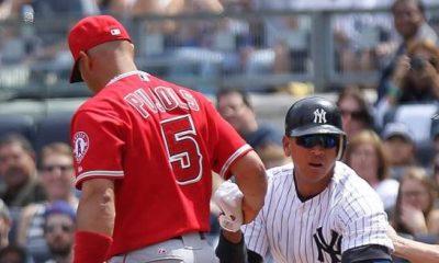 Alex Rodríguez y Albert Pujols encabezan las carreras anotadas en MLB