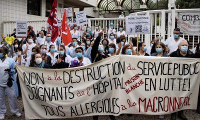 Bajan de nuevo los muertos y los hospitalizados por coronavirus en Francia