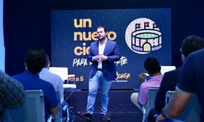 Orlando Jorge Villegas propone modificación que incluya 3% del presupuesto nacional al deporte