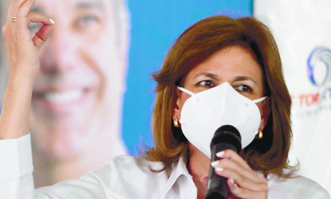 Raquel Peña afirma seguirán el trabajo político sin descanso