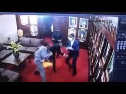 Video Los diputados Levis Suriel y Aridio Vásquez se fajan a los puños