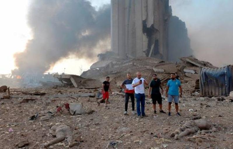 Explosión en Beirut deja más de 100 muertos y 4,000 heridos – Las Calientes  del Sur