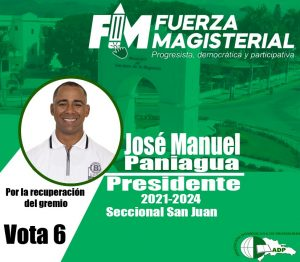 Jose Manuel Paniagua ADP 2021