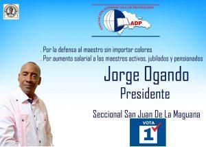Jorge Ogando ADP San Juan